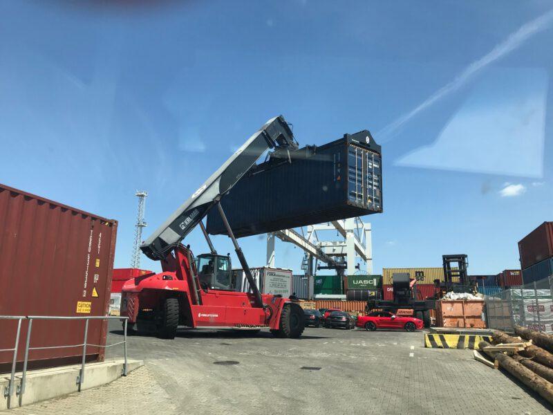 Kontejnerová přeprava USA